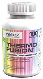 Thermo Fusion è un integratore per il controllo del peso prodotto da Reflex Nutrition.