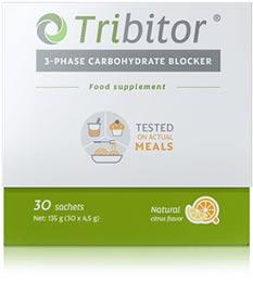 Tribitor è un blocca carboidrati